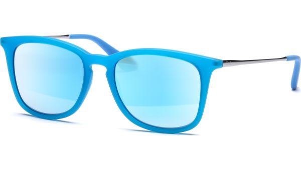Junior 9063S 701155 4816 Blue/Light Green Mirror Blue von Ray-Ban