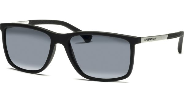 4058 506381 5817 Black Rubber/Polar Grey von Emporio Armani