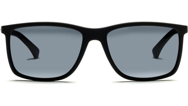 4058 506381 5817 Black Rubber/Polar Grey von Emporio Armani