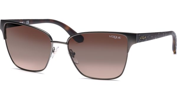 3983S 548S13 5817 Matte Brushed Gunmetal/Brown Gradient von Vogue