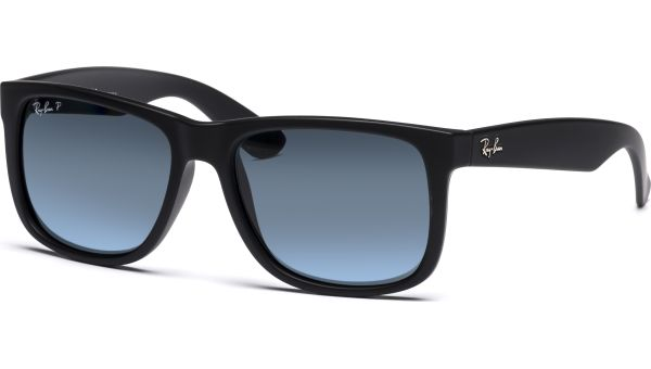 Justin 4165 622/2V 5516 Black Rubber/Dark Blue Polar von Ray-Ban