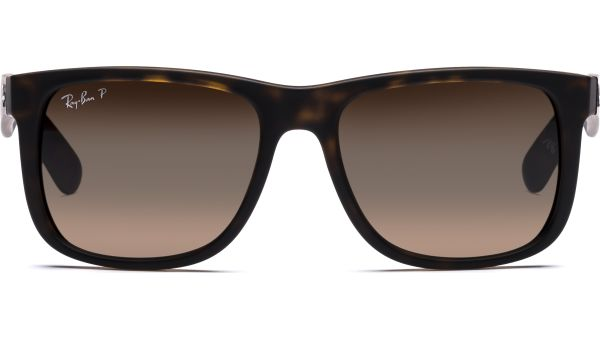 Justin 4165 865/T5 5516 Havana Rubber/Polar Brown Gradient von Ray-Ban