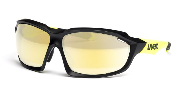 sportstyle 710 S530936 2616 7517 black mat yellow von Uvex