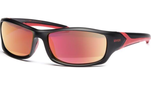 sportstyle 211 pola S530618 2230 6417 black mat red von Uvex