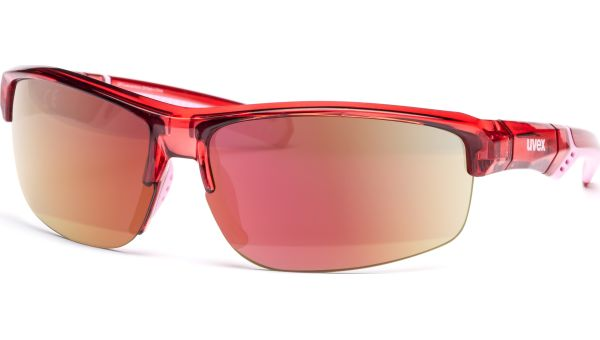 uvex sportstyle 226 S5320283316 black red/ mirror red von Uvex