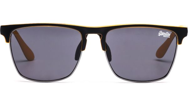 SDS Superflux 104 5614 matte black/orange von Superdry