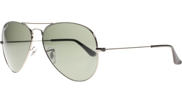Aviator Metal Medium 3025 004/58 6214 Silver von Ray-Ban