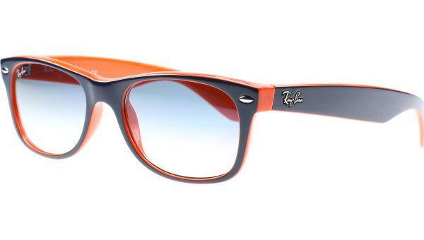New Wayfarer 2132 789/3F 5518 Blue / Orange von Ray-Ban