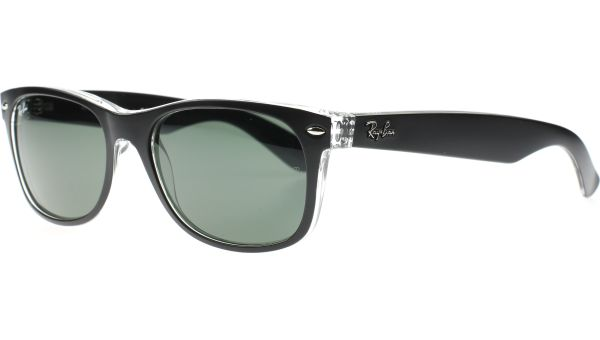 New Wayfarer 2132 6052 5218 Black Crystal von Ray-Ban