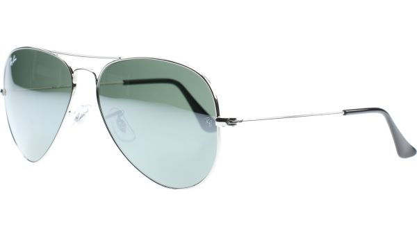 Aviator Metal Small 3025 W3275 5514 Silver Mirror von Ray-Ban