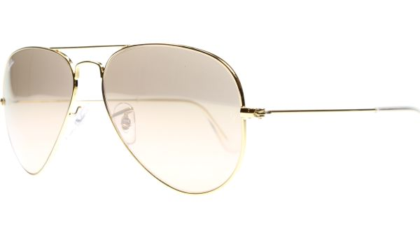 Aviator Metal Small 3025 001/3E 5514 Gold von Ray-Ban