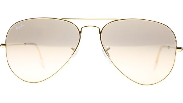 Aviator Metal Medium 3025 001/3E 5814 Gold von Ray-Ban