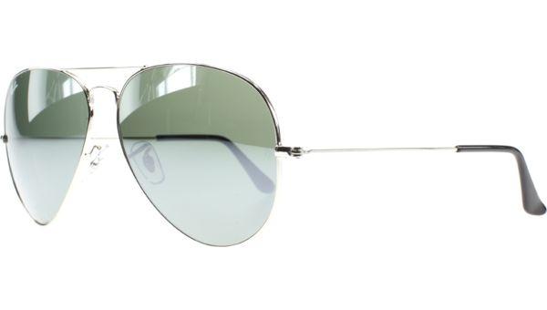 Aviator Metal Large 3025 003/40 6214 Silver Crystal von Ray-Ban