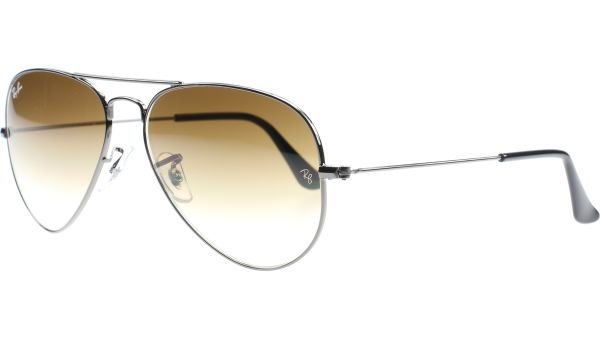 Aviator Metal Small 3025 004/51 5514 Gunmetal von Ray-Ban