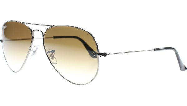 Aviator Metal Large 3025 004/51 6214 Gunmetal von Ray-Ban
