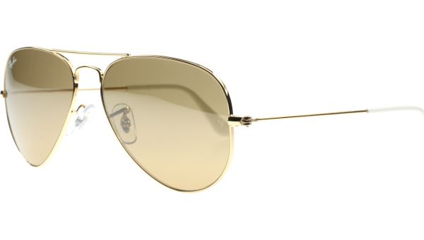 Aviator Metal Medium 3025 001/3K 5814 Arista von Ray-Ban