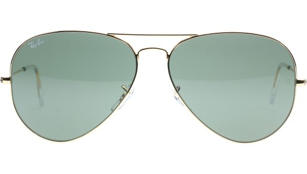 Aviator Large Metal 2 3026 L2846 6214 Gold von Ray-Ban