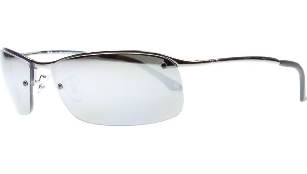 Top Bar 3183 004/82 6315 Gunmetal Polar Mirror von Ray-Ban