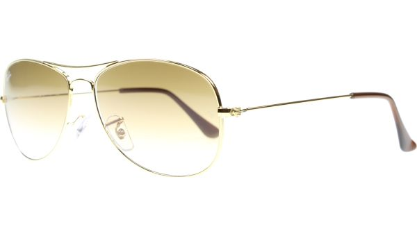 Cockpit 3362 001/51 5914 Arista Crystal / Brown von Ray-Ban
