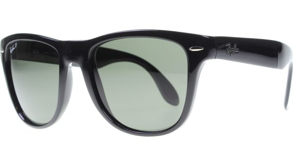 Folding Wayfarer 4105 601/58 5022 Black von Ray-Ban