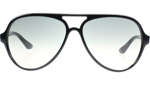 CATS 5000 4125 601/32 5913 Shiny Black von Ray-Ban