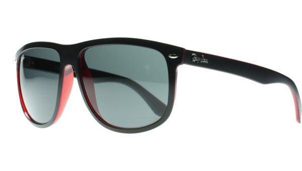 4147 617187 6015 Matte Black / Red von Ray-Ban