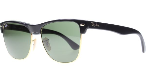 Clubmaster Oversized 4175 877 5716 Black von Ray-Ban