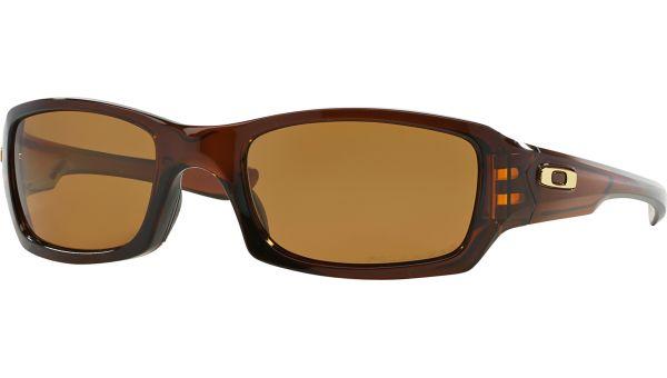 Fives Squared 9238 923808 5420 Polished Brown von Oakley