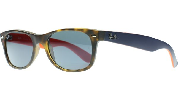 New Wayfarer 2132 6180R5 5218 Tortoise / Orange / Blue von Ray-Ban