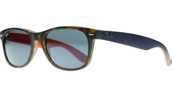 New Wayfarer 2132 6180R5 5518 Tortoise / blue von Ray-Ban
