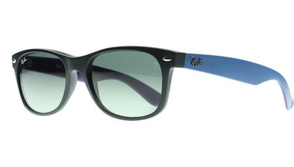 New Wayfarer 2132 618371 5518 Black / Blue / Purple von Ray-Ban