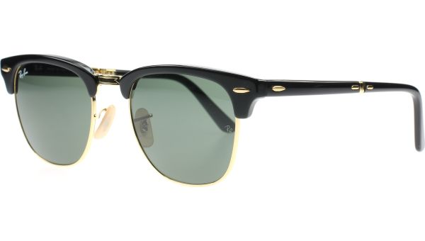 Clubmaster Folding 2176 901 5121 Black von Ray-Ban