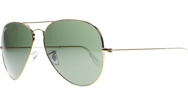 Aviator Metal Large 3025 001 6214 Gold von Ray-Ban
