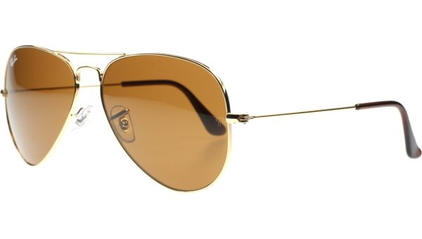 Aviator Metal Medium 3025 001/33 5814 Gold von Ray-Ban