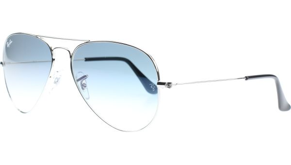 Aviator Metal Small 3025 003/3F 5514 Silver von Ray-Ban