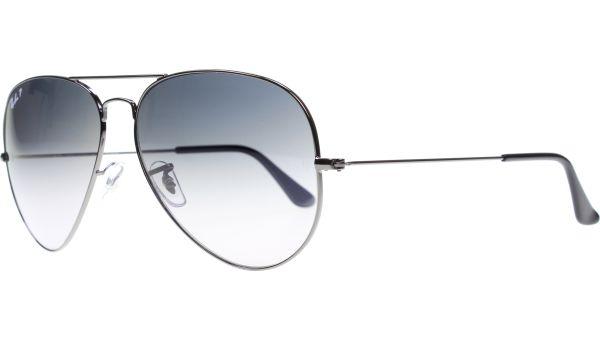 Aviator Metal Large 3025 004/78 6214 Silver von Ray-Ban
