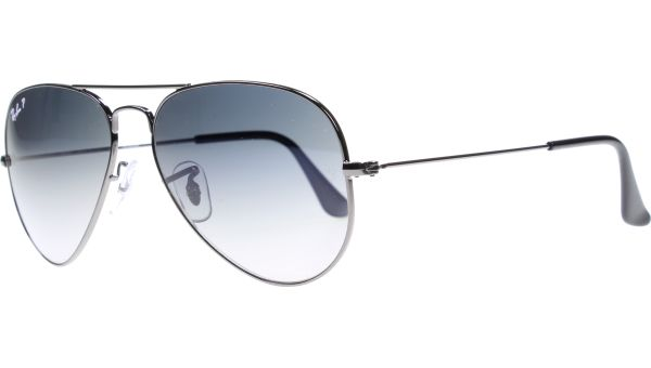 Aviator Metal Small 3025 004/78 5514 Gunmetal von Ray-Ban