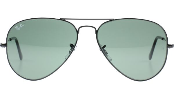 Aviator Metal Medium 3025 L2823 5814 Black von Ray-Ban