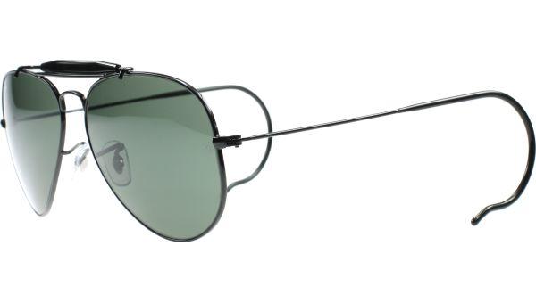 Outdoorsman 3030 L9500 5814 Black von Ray-Ban
