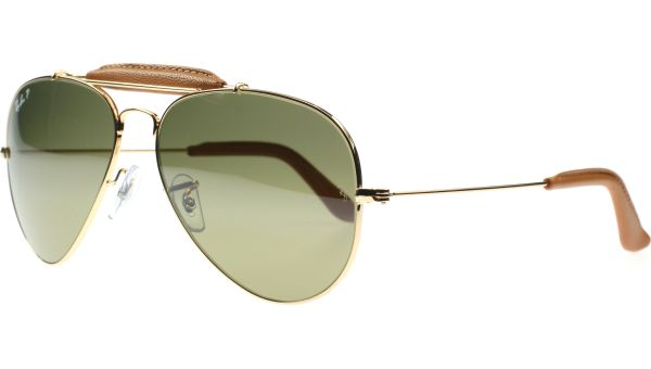 Aviator Craft 3422Q 001/M9 5814 Craft Collection Shiny Gold von Ray-Ban