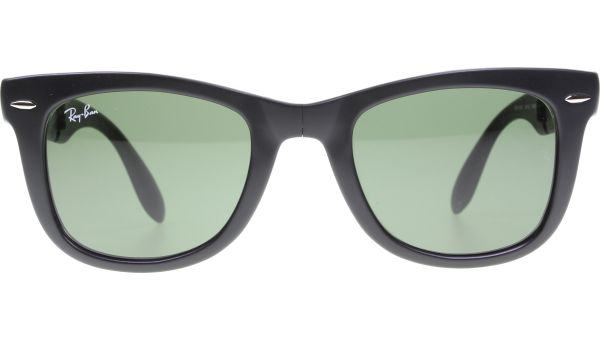 Folding Wayfarer 4105 601S 5022 Matte Black von Ray-Ban