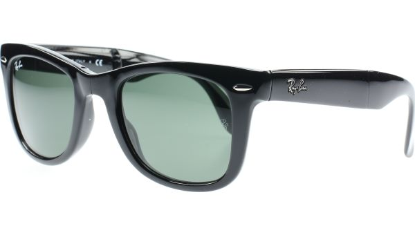 Folding Wayfarer 4105 601 5420 Black von Ray-Ban