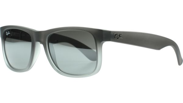 Justin 4165 852/88 5116 Rubber Grey to Grey Transparen von Ray-Ban