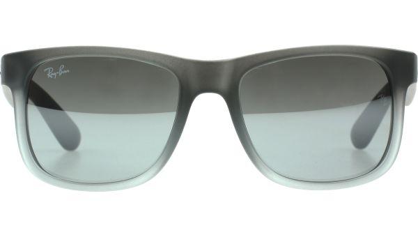 Justin 4165 852/88 5116 Rubber Grey to Grey Transparen von Ray-Ban