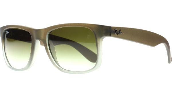 Justin 4165 854/7Z 5116 Rubber Brown on Grey von Ray-Ban
