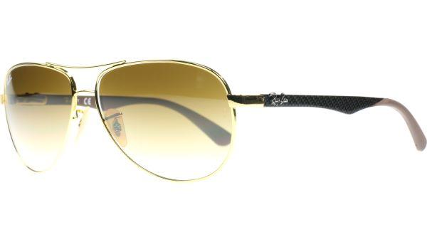 Carbon Fibre 8313 001/51 5813 Gold von Ray-Ban