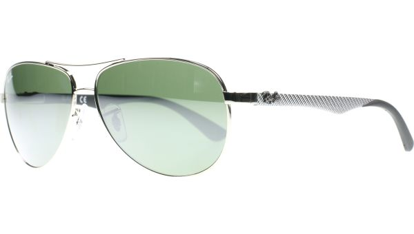 Carbon Fibre 8313 003/40 5813 Silver von Ray-Ban