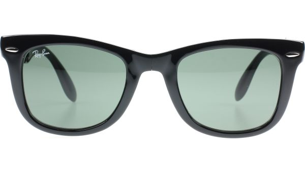 Folding Wayfarer 4105 601 5022 Black von Ray-Ban