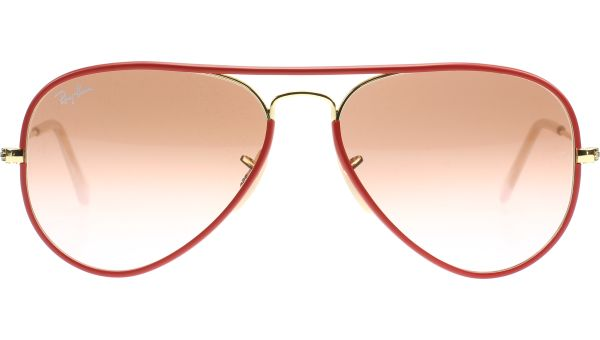Aviator Large Metal 3025JM 001/X3 5514 Red von Ray-Ban