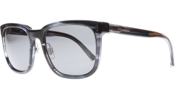 4271 2924/81 5619 Striped Anthracite von DOLCE&GABBANA